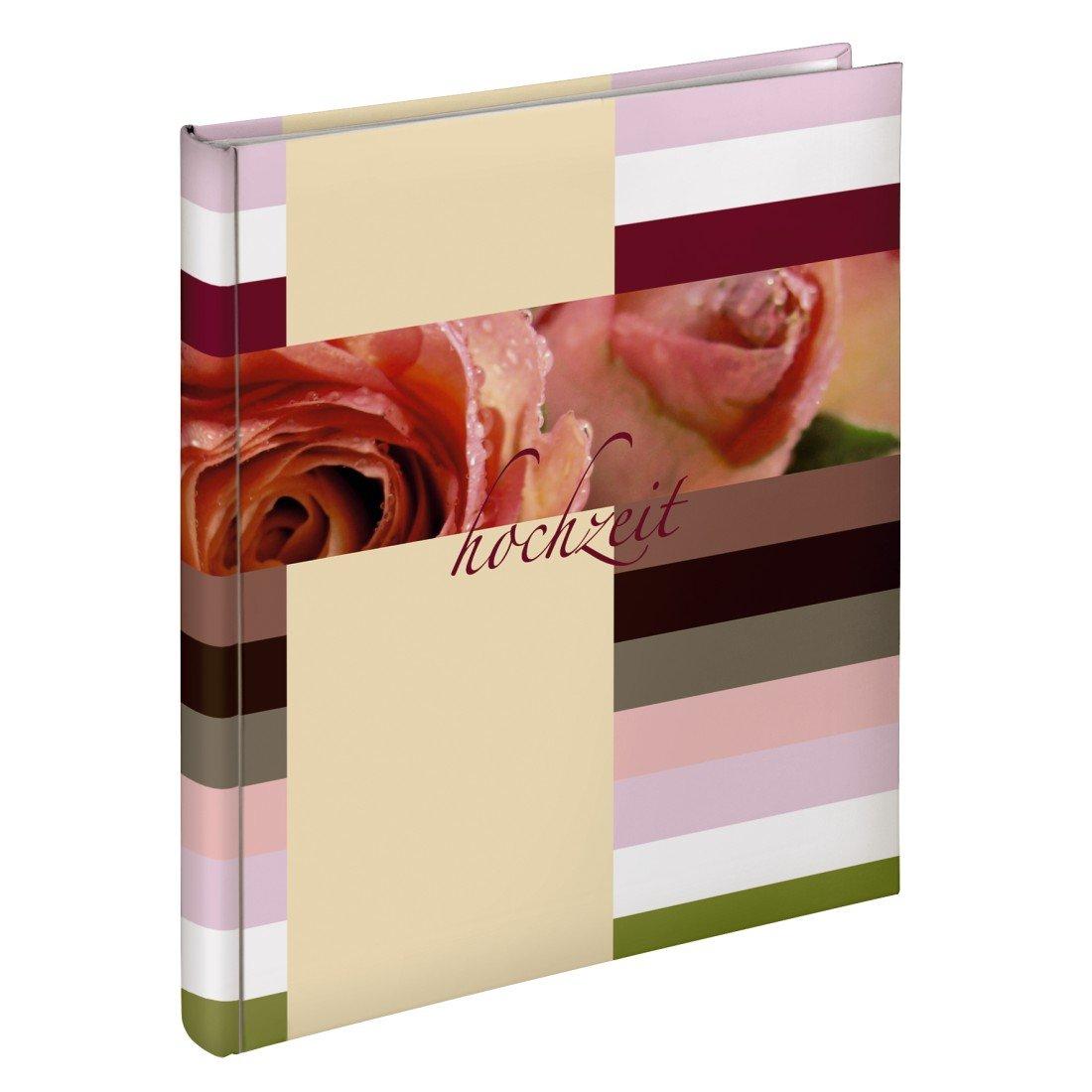 Hama Hochzeitsalbum Buchalbum Savona, 30x33 cm, 50 Seiten 00010689