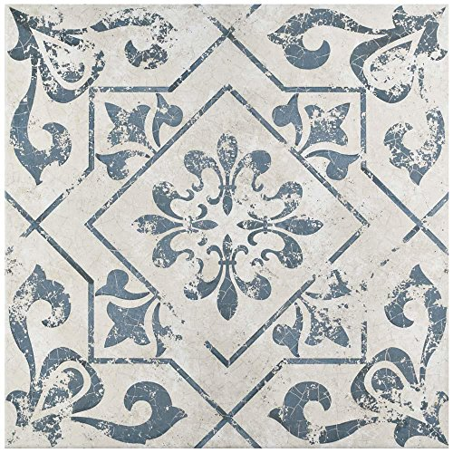 Orleans Spanish Pattern 18x18 Ceramic Tile