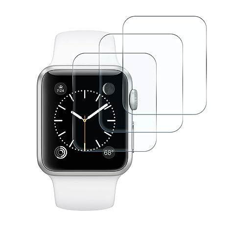 3 x Smart Watch tanque Cristal protector de pantalla para Apple ...