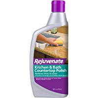 Rejuvenate Kitchen & Bathroom Countertop Polish – Brings Back Shine and Luster to All Kitchen and Bathroom Countertops…