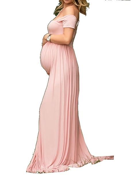 Vestidos largos de modal para embarazadas