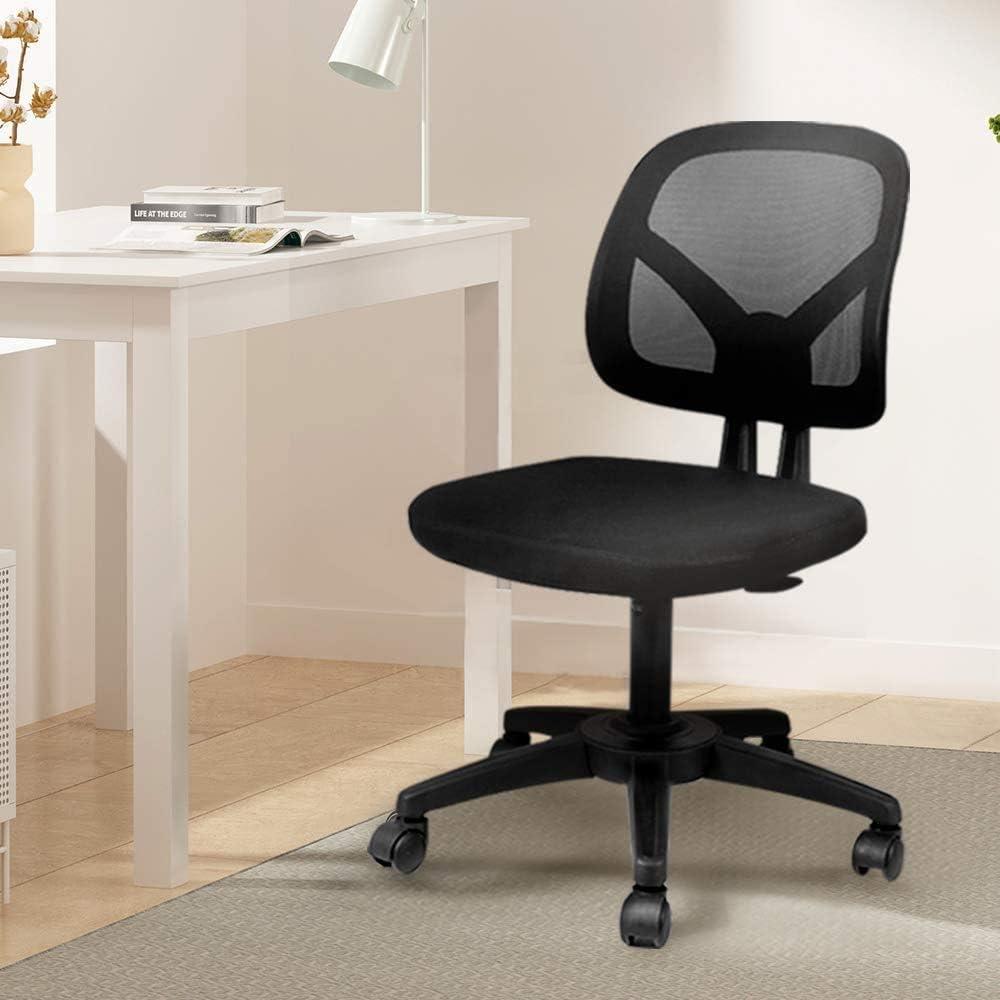 Hbada,Hbada椅子,オフィスチェア,デスクチェア,メッシュ,通気性抜群,黒の椅子,コンパクトな椅子座面昇降調節,事務所用,学習チェア