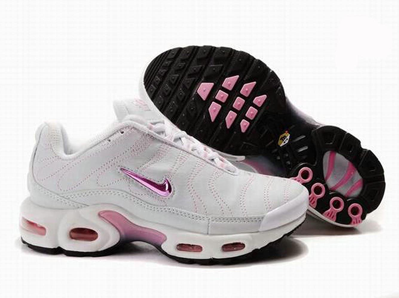 san francisco 8ba0e 8a6e4 Nike Air Tuned 1 TN White/Pink UK 5.5: Amazon.co.uk: Shoes ...