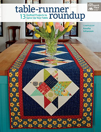 Quilted Table - Table-Runner Roundup: 13 Quilted Projects to Spice Up Your Table
