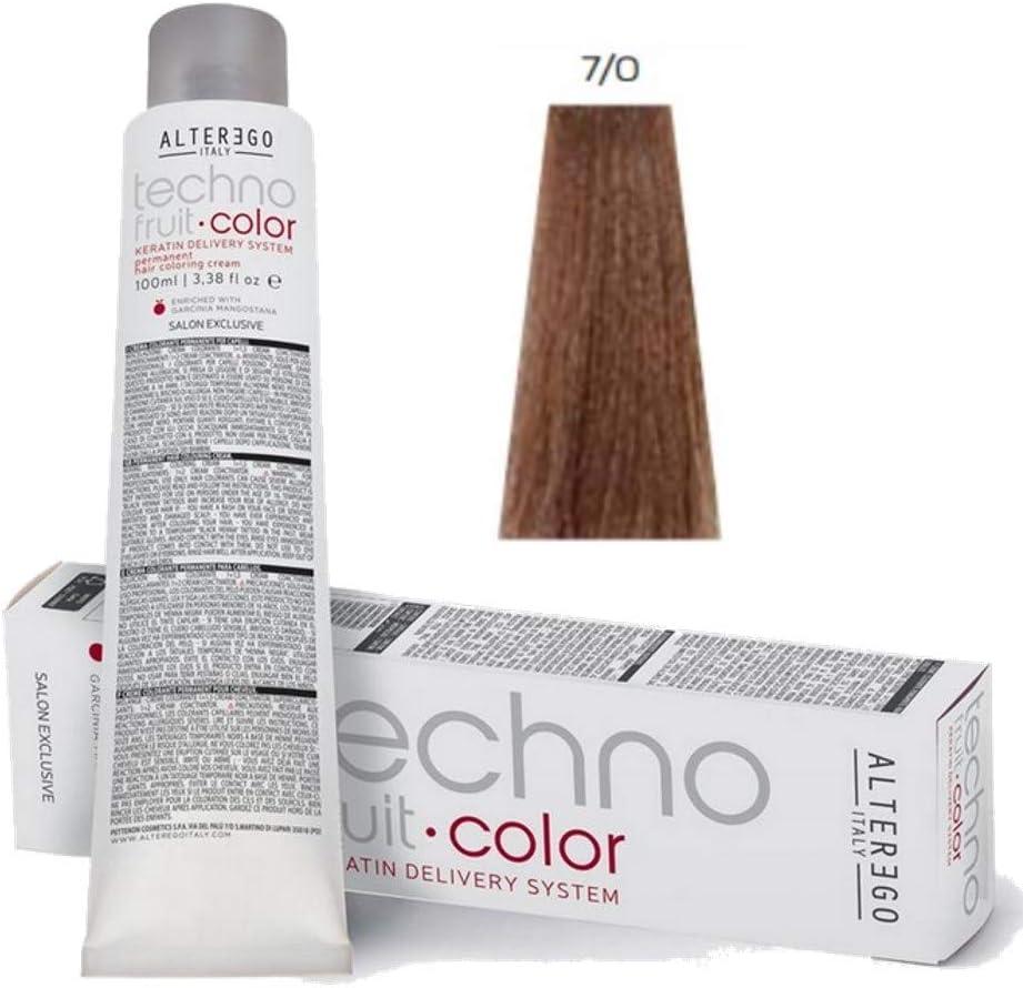 Techno Fruit Color AlterEgo – 7/0 Rubio – 100 ml