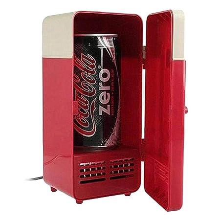 Oldhorse Mini frigorífico USB Refrigeración y calefacción ...