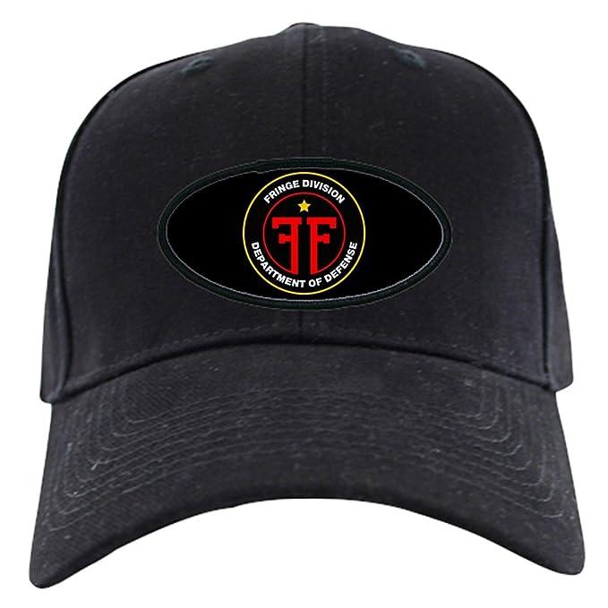 068e4cde4 CafePress - Fringe Division Black Cap - Baseball Hat, Novelty Black Cap