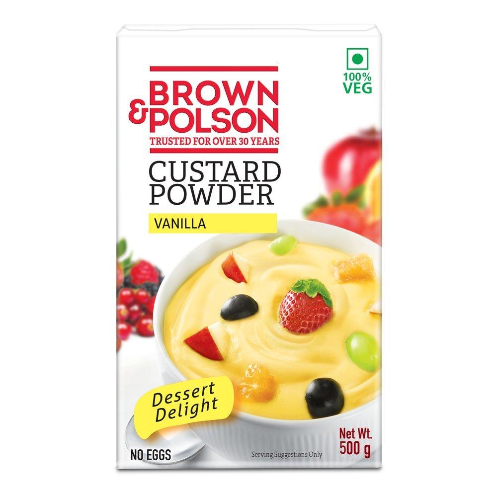 Brown & Polson Vanilla Custard Powder, 500g