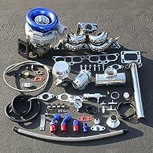 Nissan 240SX SR20 Enigne Swap 9pcs T04E Turbo T3 Manifold Upgrade Installation Kit
