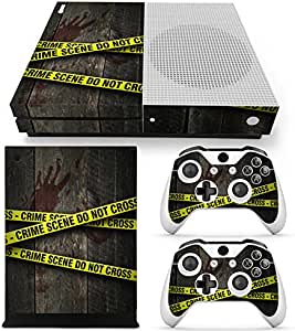 XBOX ONE S Skin Design Foils Pegatina Set - Crime Scene Motivo ...