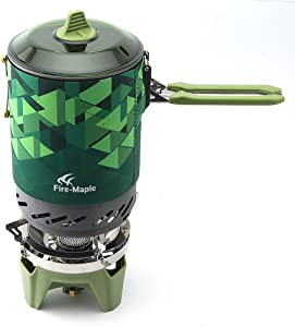 Fire-Maple Fixed Star 2 Cooking System, Hiking Camping Backpacking Stove