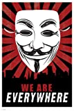 Empireposter - Fawkes, Guy - We Are Everywhere - Größe (cm), ca. 61x91,5 - Poster