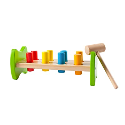 Fat Brain Toys Pound & Tap Hammer Bench Baby Toys & Gifts for Babies: Toys & Games