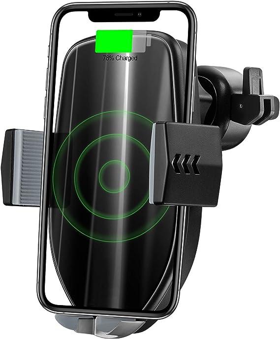 Pupouse Handyhalterung Auto Wireless Charger Qi Kfz Elektronik