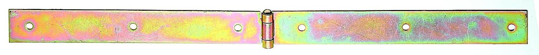 leicht galvanisch gelb verzinkt GAH-Alberts 315948 Kistenband 500 x 35 mm mit vernietetem Stift