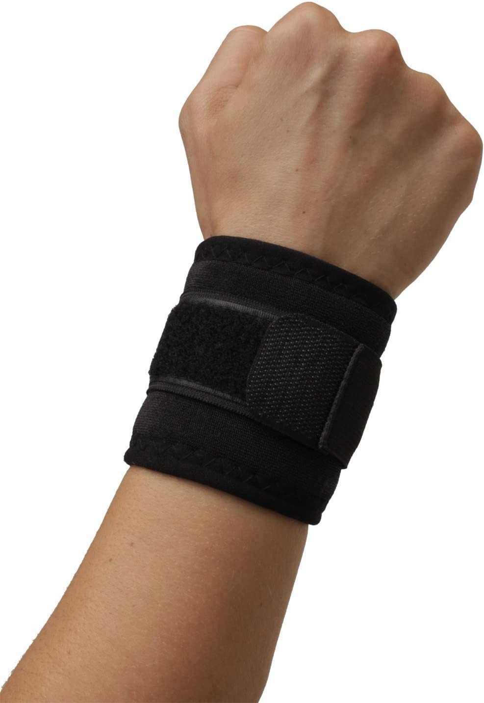 Wrist Support - Dual Magnetic & Tourmaline Technology - Self-Warming - Adjustable Fit