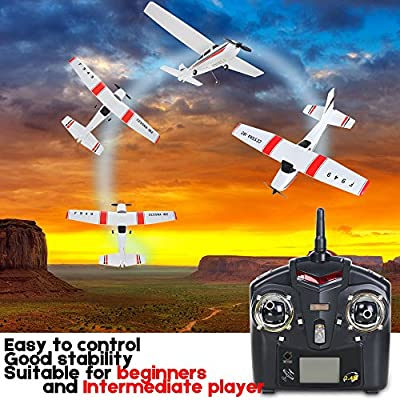 WLtoys F949 3CH 2.4G Cessna 182 Micro RC Airplane RTF,by Mercures, Ship from US! (Airplane): Toys & Games