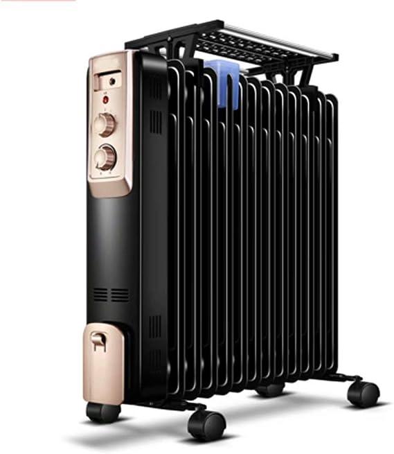 ltjrq Aceite Ting Calentador Hogar Energía Ahorro Calentador Calor Velocidad Calor Eléctrico Ventilador Horno de Horneado Horno Eléctrico Ding: Amazon.es: Hogar