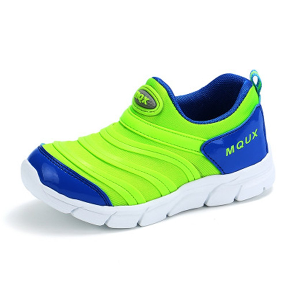 YUBUKE Sneaker Shoes Kids Breathable Mesh Light Weight Athletic Walking Casual Shoes