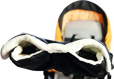 Baybino - Calentador de manos para carrito de bebé (forro agradable, impermeable)
