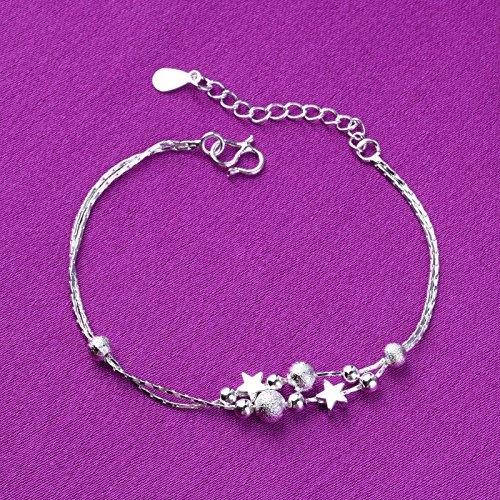 Star Pieds De Cheville Anklet Femme Double Bracelet Pied Plage Accessoire Bijoux Perles Cdet Clair Sable 6g1SBnxw5q