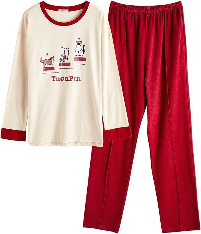 Goso Pijama Para Ninas Con Estampado De Dibujos Animados Y Pantalones Largos Conjunto De Ropa De Noche Para Nina De 8 9 10 12 13 14 Anos Amarillo Amarillo 10 11 Anos Amazon Es Ropa Y Accesorios