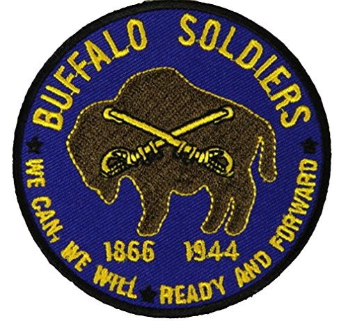BUFFALO-SOLDIERS-ROUND-PATCH-Color-Veteran-Owned-Business