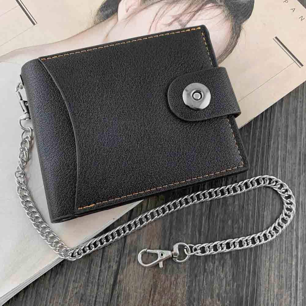 Silver 15 Inches Huture Wallet Chain Anti Lost Key Chain Metal Pants Chain Purse Chain Pocket Chain Punk Keychain with Mini Hook Clasps Keyring Accessories for Men and Womens Jeans Belt Handbag