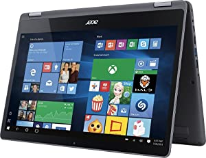 Acer Aspire R 15 2-in-1 Convertible 15.6 Inch FHD IPS Touchscreen Laptop Intel Core i5-7200U, 8GB DDR4 RAM, 1TB HDD Windows 10- Aluminum chassis (Certified Refurbished)