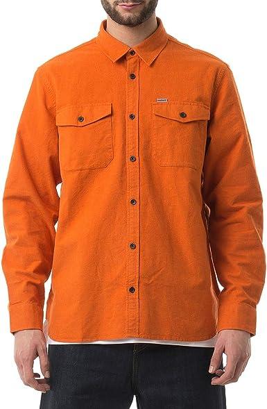 Carhartt - Camisa Casual - para Hombre Naranja XL: Amazon.es ...