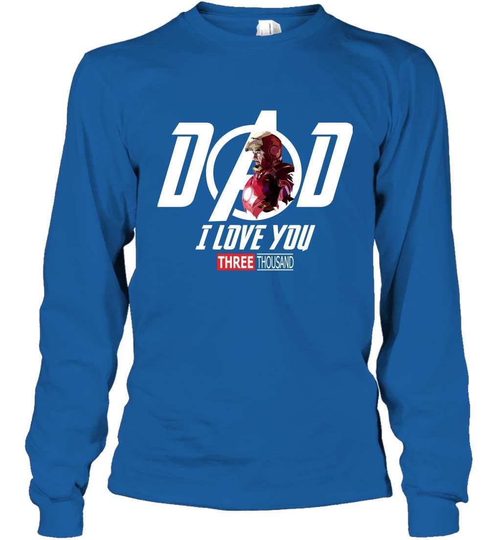 Dad I Love You Three Thousands T Shirt 4795