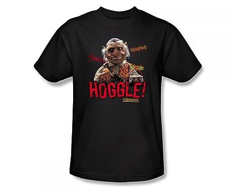 Labyrinth - Hoggle Slim Fit Adult T-Shirt in Schwarz, Small, Black