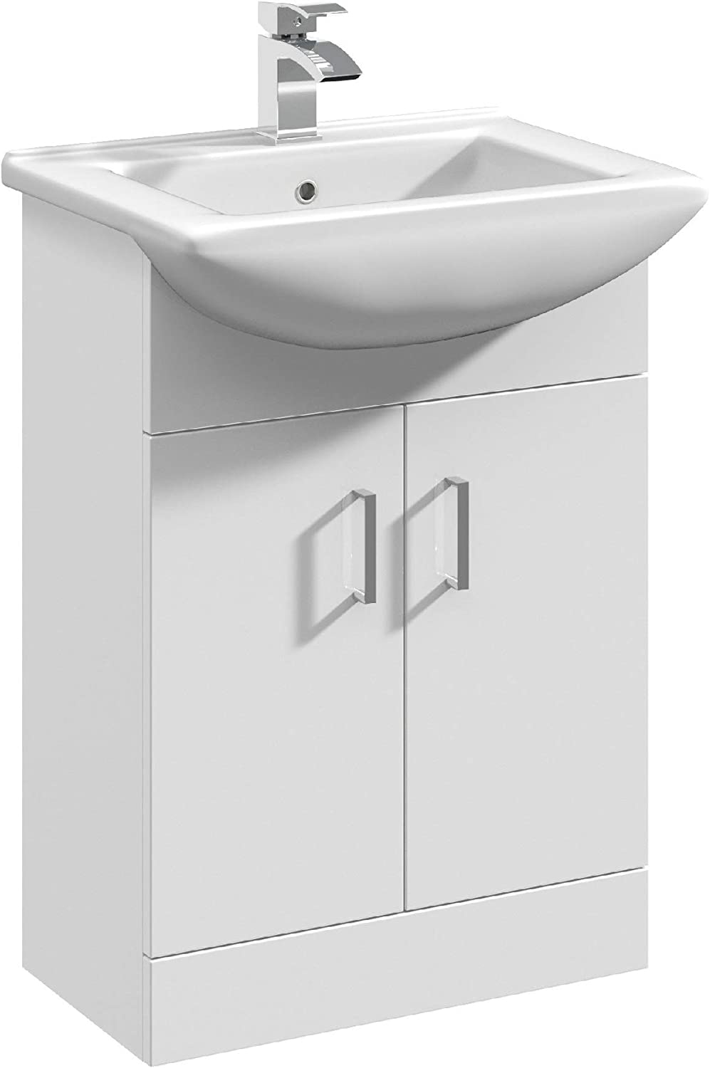 Mayford Floor Standing 550mm Cabinet & Basin 2