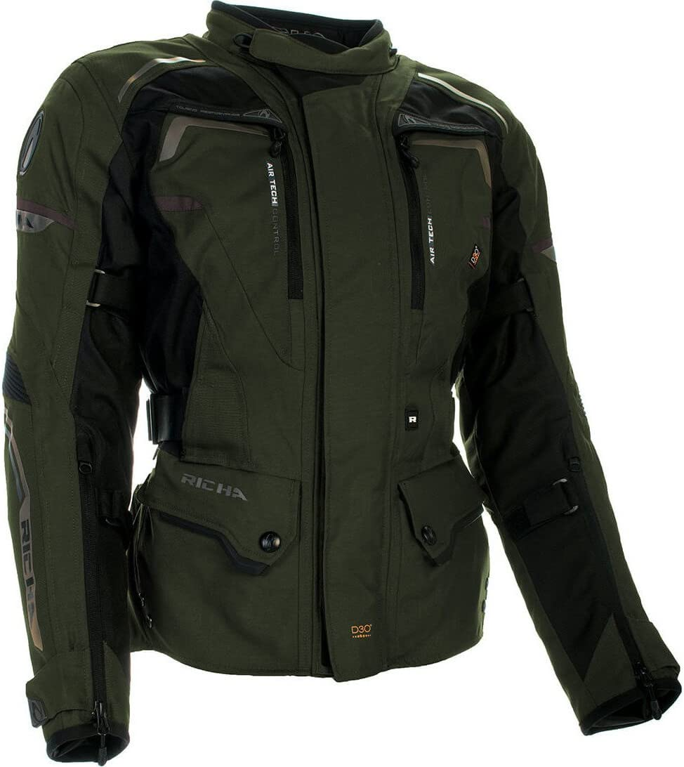 Riha Infinity 2 Waterproof Texile All Weather Motorcycle Jacket Bronze