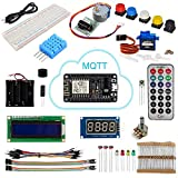 OSOYOO 2017 IOT programming learning starter kit with ESP8266 WIFI NodeMCU Board for Arduino (22 items)