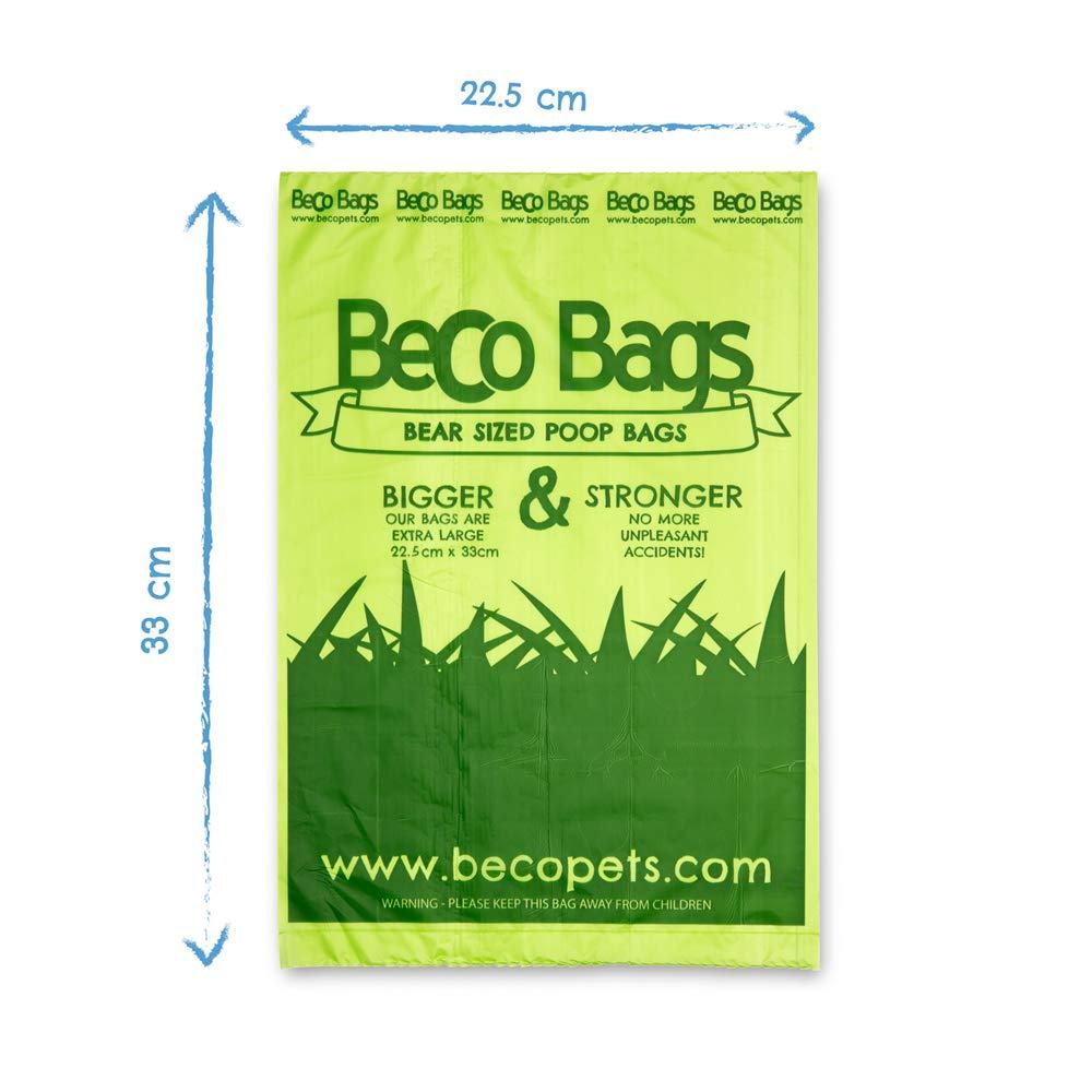 Bolsitas higi/énicas desechables con fragancia a menta para perros Beco