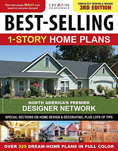 Best Selling 1 Story Home Plans