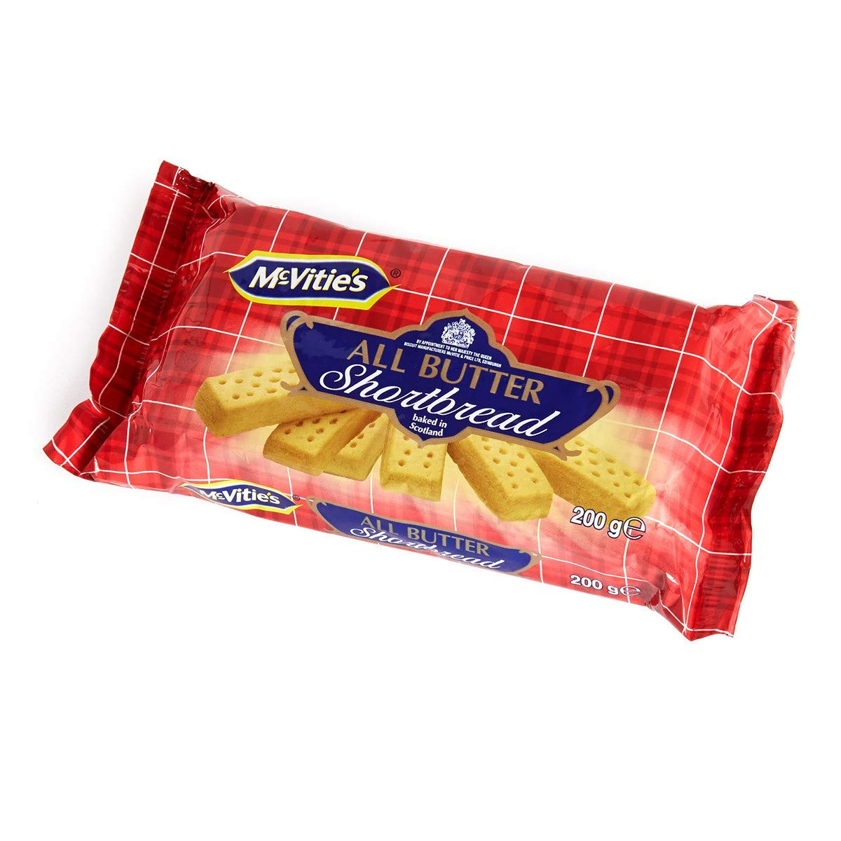 McVities All Butter Shortbread 200g(Pack of 4) by McVitie's