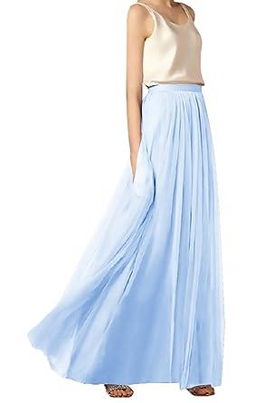 Mujer Minifalda Tallas Grandes Elegante Primavera Verano Cintura ...