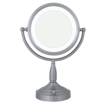Amazon zadro 8x1x dual sided lighted vanity mirror personal zadro 8x1x dual sided lighted vanity mirror aloadofball Image collections