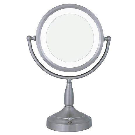 zadro mirrors. zadro 8x/1x dual-sided lighted vanity mirror mirrors d