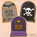 Wilton Cookie Cutter: Halloween Tombstone Headstone Grave Marker ~ Comfort Grip Large Size ~ 2310-599