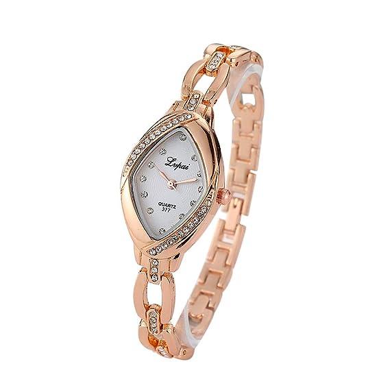 Aobuang Relojes para Mujer Pulsera De Acero Inoxidable ...