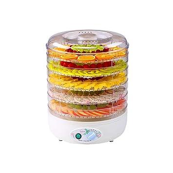 Food Dehydrator - Tendedero eléctrico portátil termostático (250 W): Amazon.es: Hogar