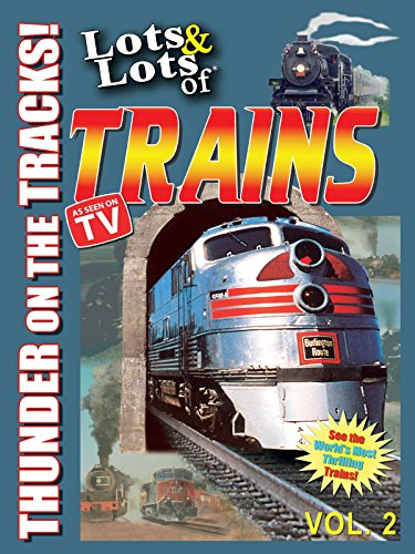 Live Steam Trains - Lots & Lots of Trains - Thunder on the Tracks