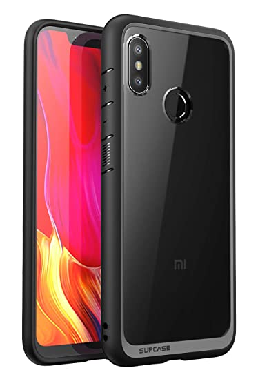 low priced 38737 bce81 SUPCASE Mi 8 2018 Case,Premium Hybrid Protective Clear Case for Xiaomi Mi 8  Global Version (2018 Release), Unicorn Beetle Style Series (Black)