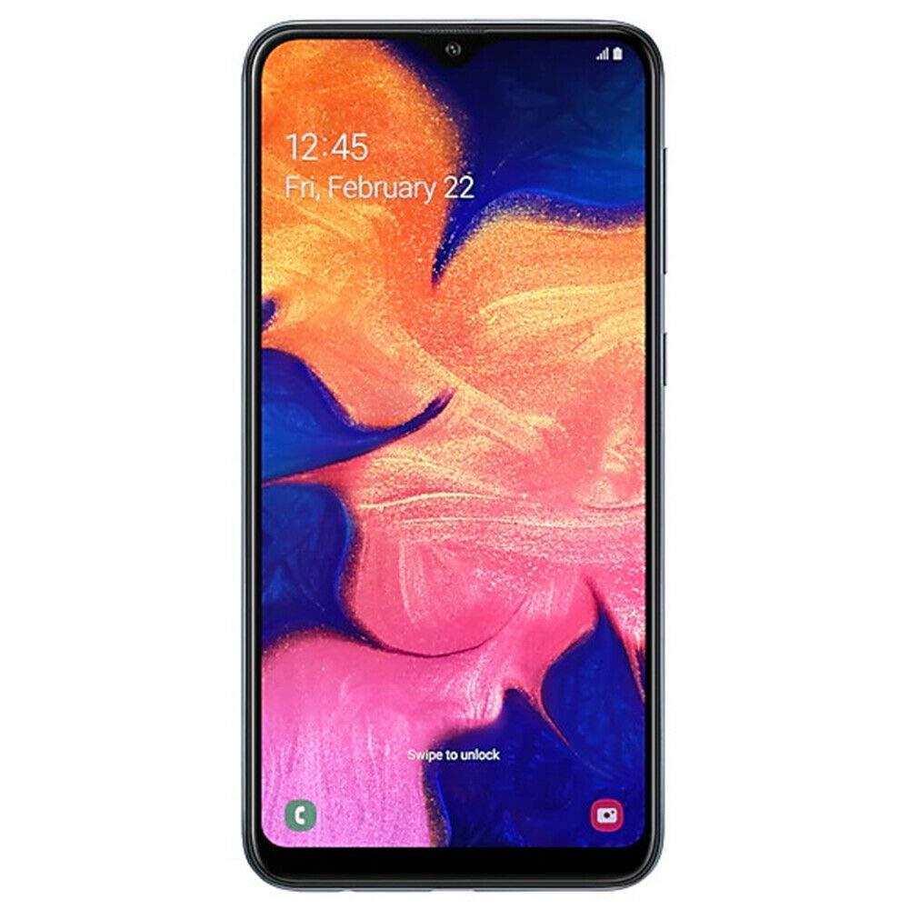 "Samsung Galaxy A10 32GB A105F/DS LTE Unlocked GSM 6.2"" HD+ Smartphone - International Version, No Warranty (Black)"