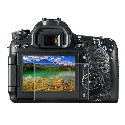 Canon 750D/760D/80D - Protector de pantalla LCD para cámara de ...