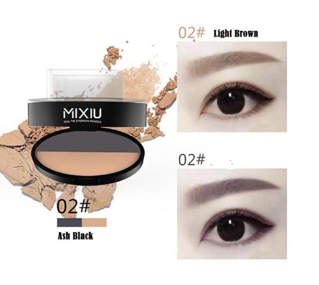 Amazon Yabina Eyebrow Stamp 3 Shapes 2 Tone Powder For