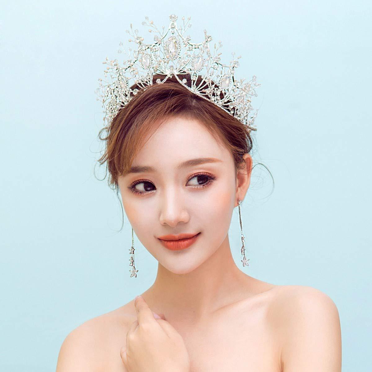 Girls Crown, Beautiful headdress/Bridal Crown Accessories Crown 2 Wedding Accessories by Zehaer (Image #3)
